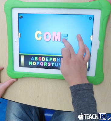 Best FREE Sight Word Apps & activities for kids to use on the iPad.