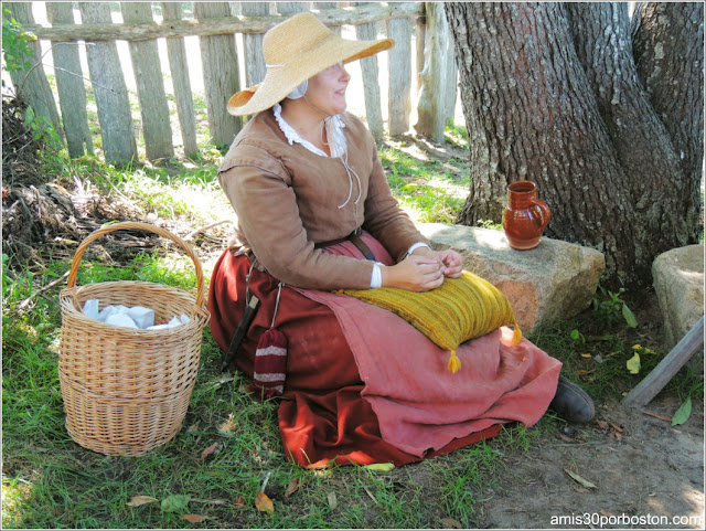 Plimoth Plantation: Colonos de la 17th-Century English Village