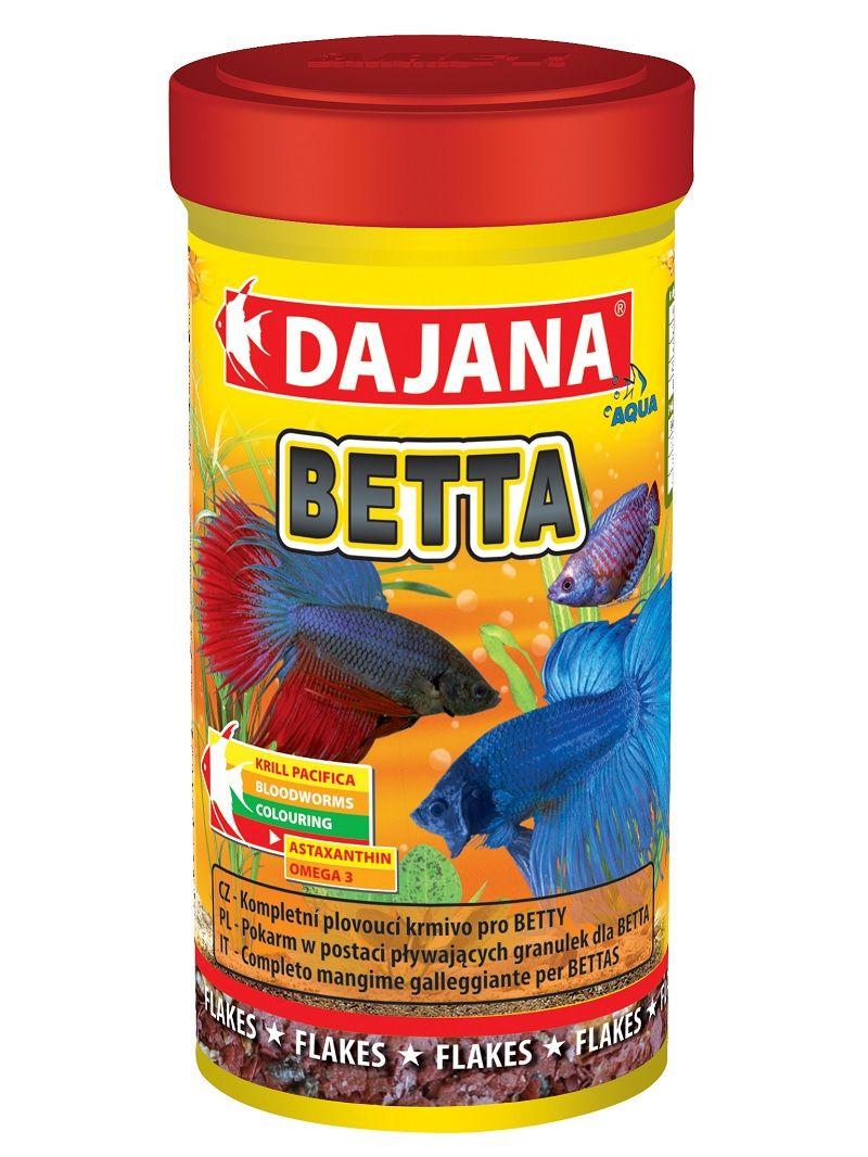 Image Betta Fish Food Tropical Flakes