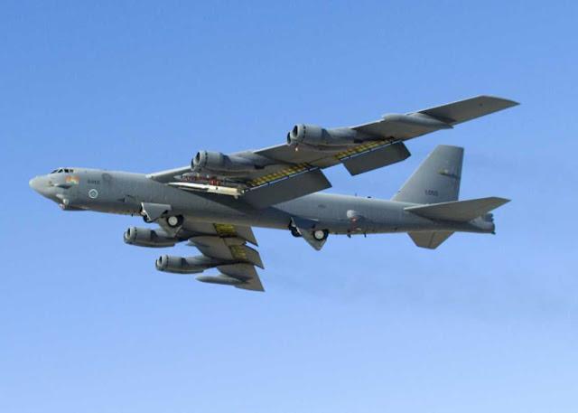 Pentagon mengkonfirmasi pencegatan bomber B-52 di Laut Baltik
