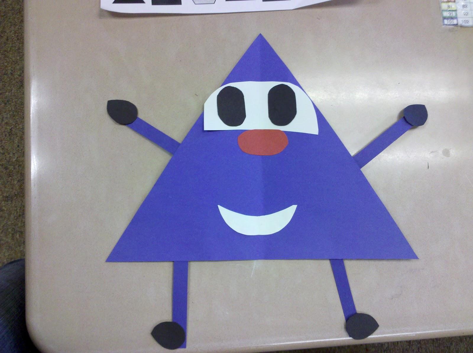 greedy triangle writing activity