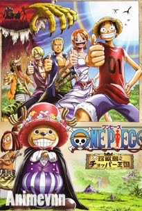 One Piece Movie 3 -Vua Chopper Của Đảo Thú - One Piece: Chopper Kingdom of Strange Animal Island 2013 Poster