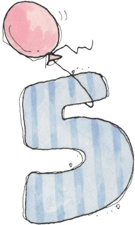 Números para baby shower