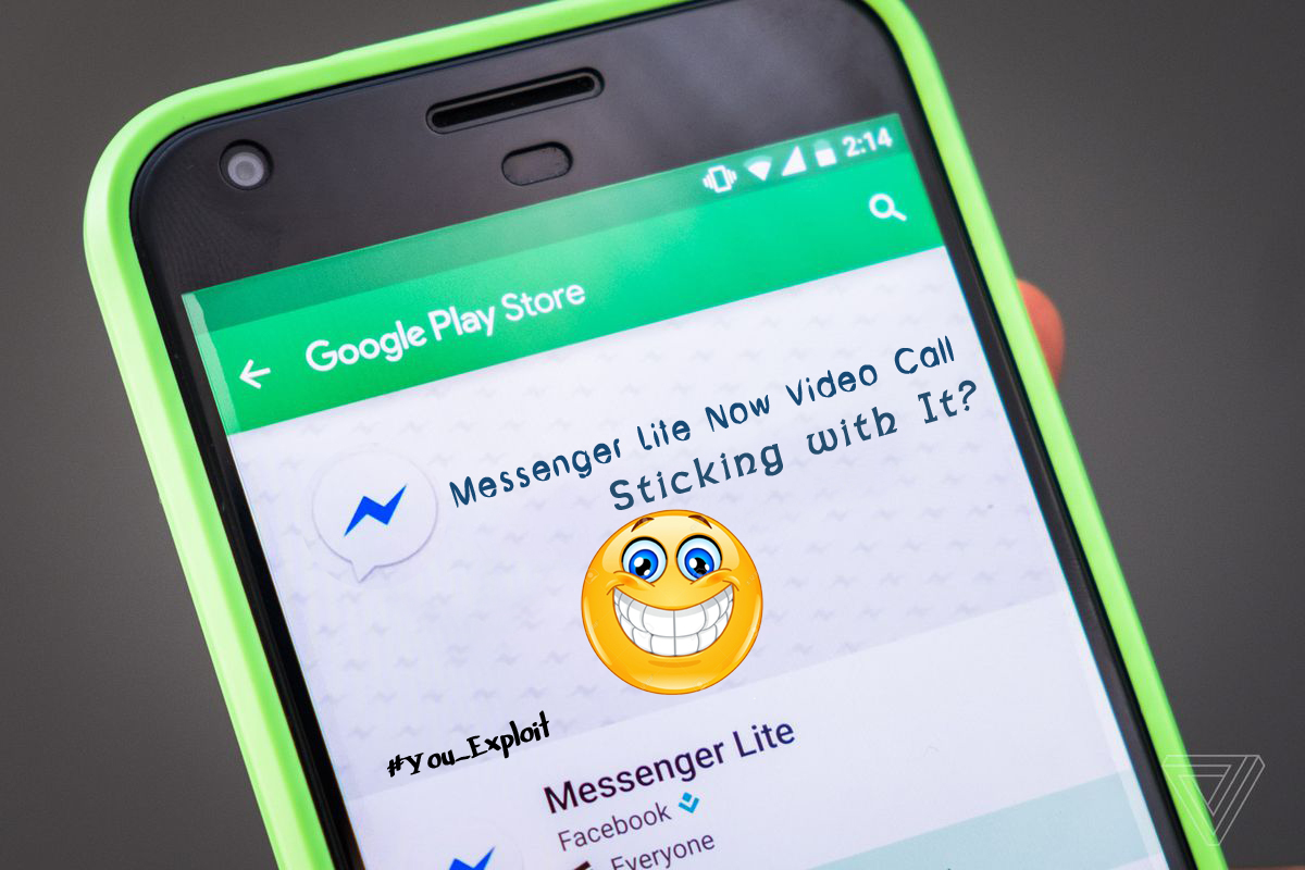 Messnger Lite now make Video calls, gonna stick with it