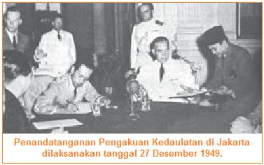 Pengakuan kedaulatan Indonesia KMB di Jakarta