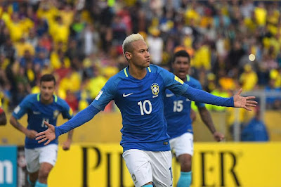 Brazil Beat Ecuador As Jesus and Neymar Scored Brilliantly