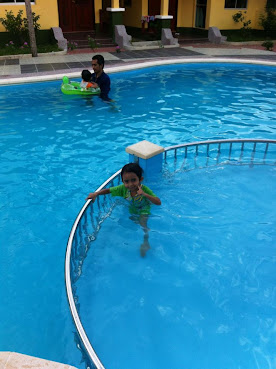 Chalet swimming pool - Homestay langkawi with swimming pool ...