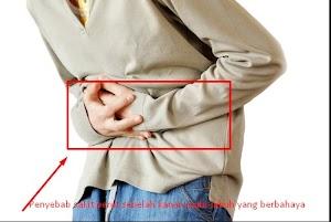 Beberapa penyebab terjadinya sakit perut disebelah kanan pada tubuh manusia