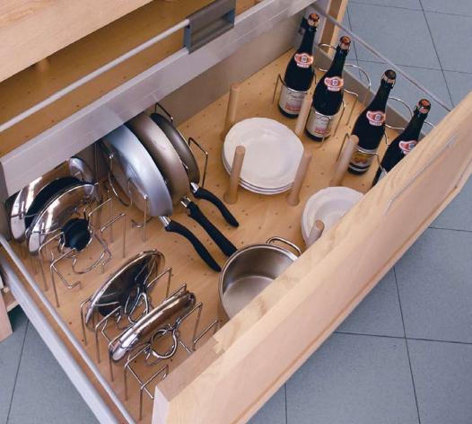 Complementos de madera para organizar los cajones de la - Cocinar en sartenes de ceramica ...