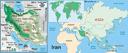 Orientalic Det Forjaettede Land Iran