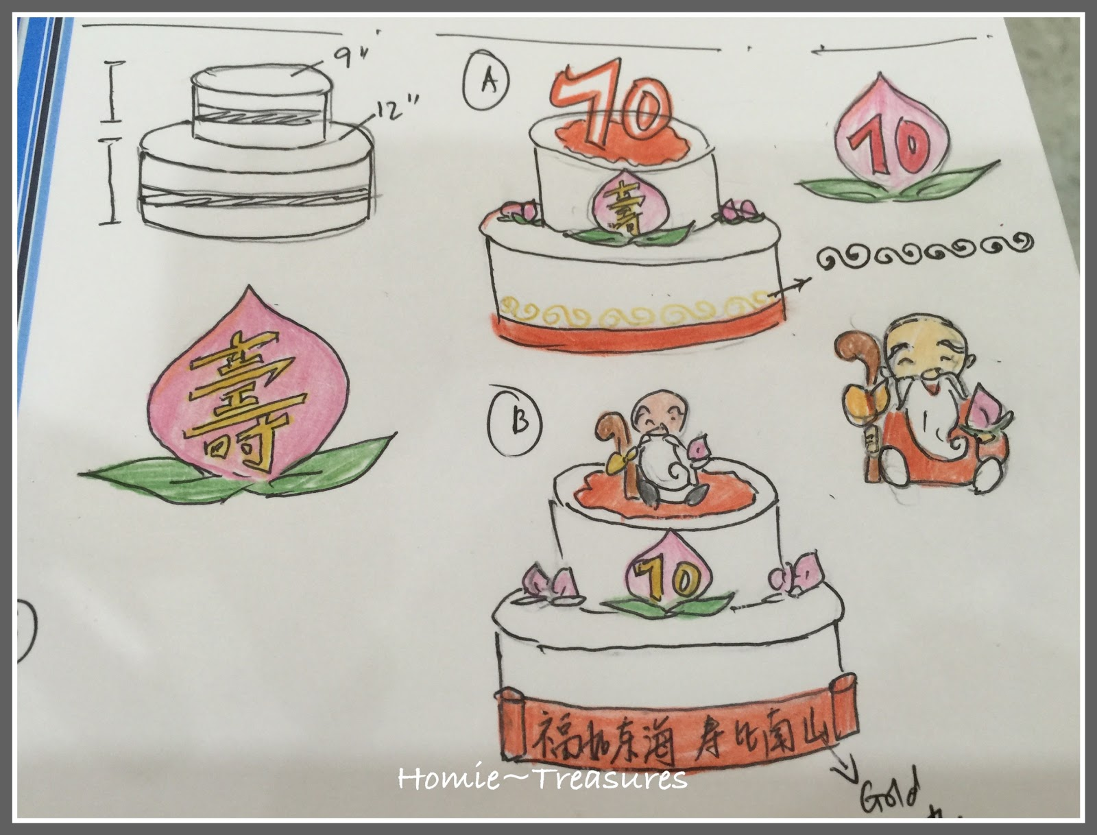 chinese wedding cake cutting meaning my humble of 12663