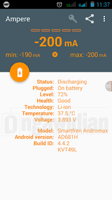 Cara Mengetahui Speed Charger Android