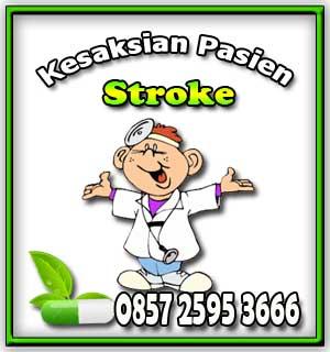 testimoni stroke, kesaksian stroke, stroke bisa jalan, stroke lumpuh separuh