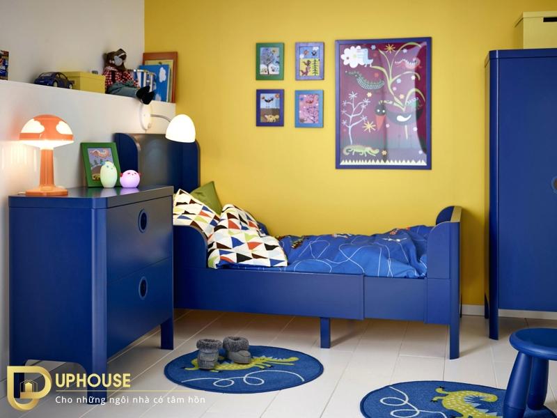 Phòng ngủ màu vàng nhạt 04