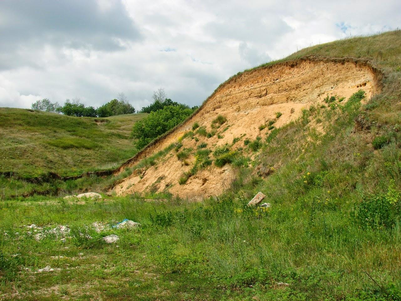 Глиняный холм