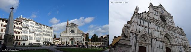 Viaje a Florencia: Iglesias de Santa María Novella y de la Santa Croce