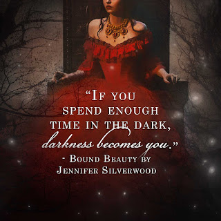 """If you spend enough time in the dark, darkness becomes you."""