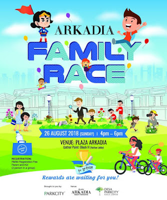 Arkadia Family Race, Plaza Arkadia, Desa ParkCity