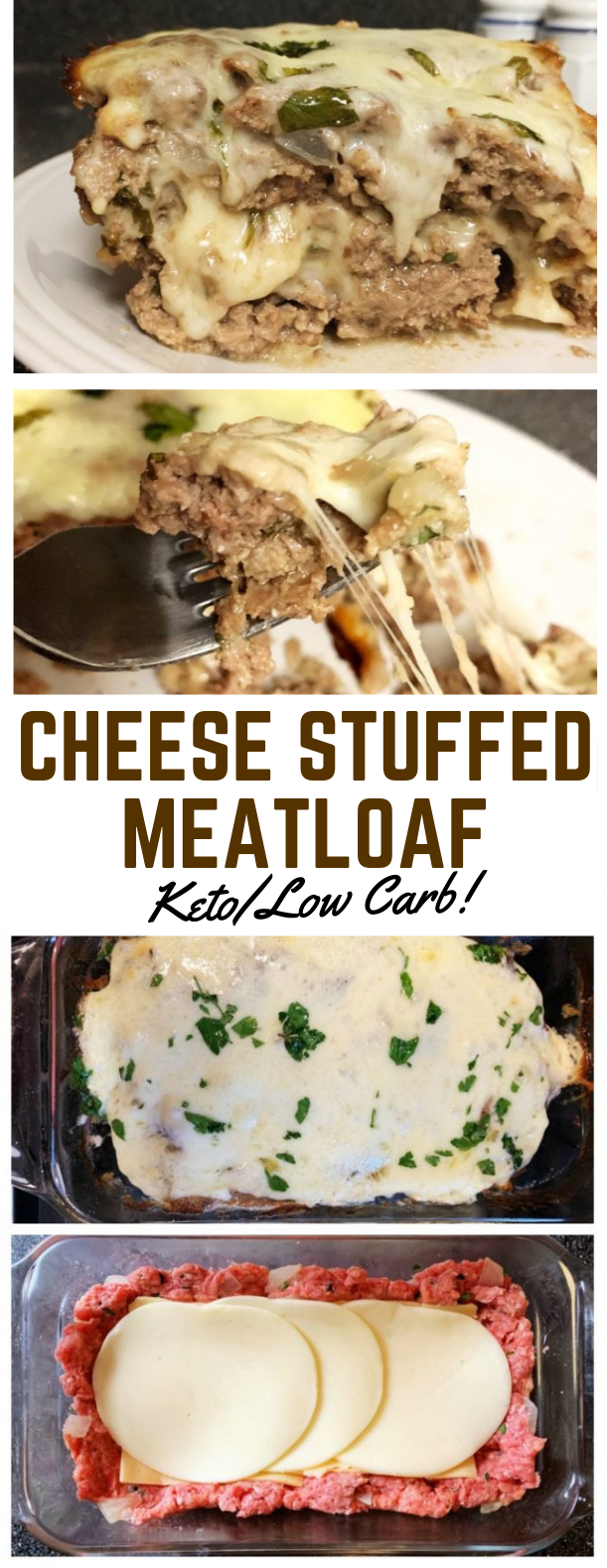 STUFFED MEATLOAF – KETO / LOW CARB #diet #ketogenic