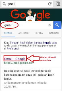 Gmail Dari Google Pencarian