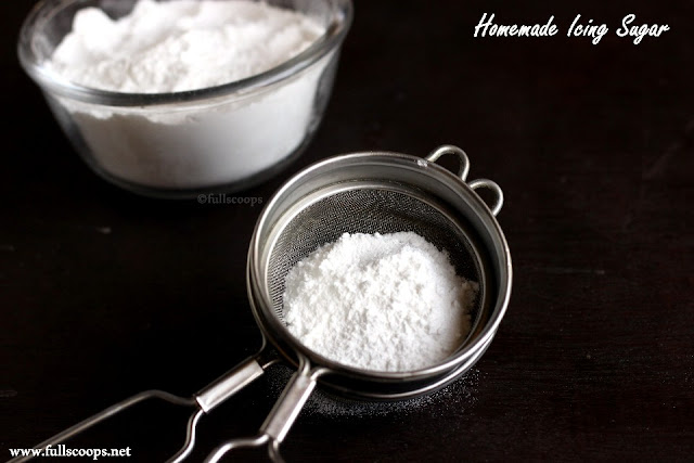 Homemade Icing Sugar