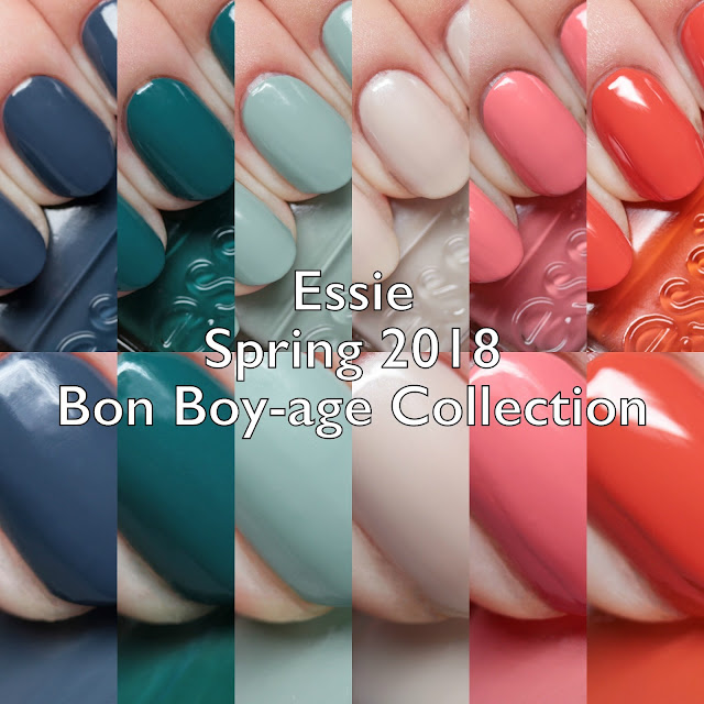 Essie Spring 2018 Bon Boy-age Collection