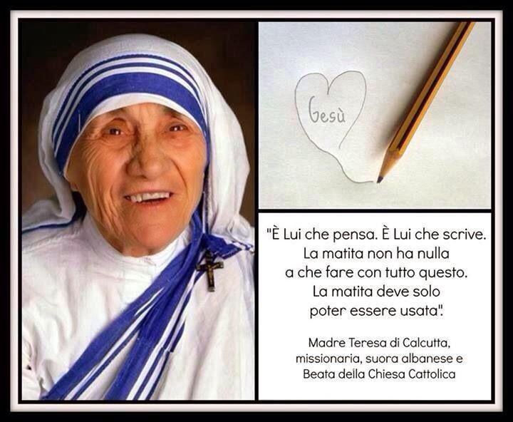 Frasi Matrimonio Madre Teresa.Frasi Madre Teresa Di Calcutta Sul Matrimonio