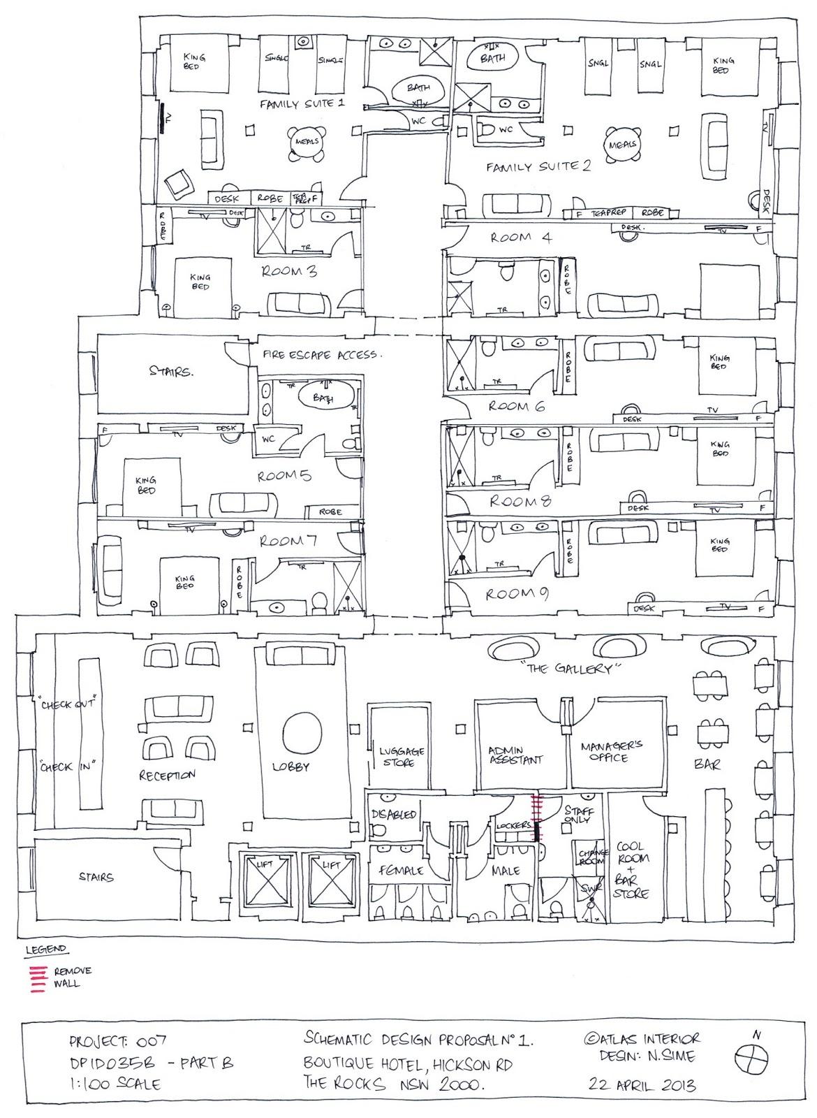 Interiors: DPID035B Complex Brief // Present Schematic