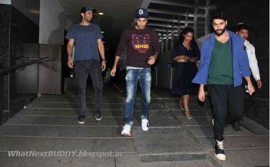 ranbir kapoor with there friends
