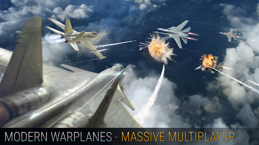 Modern Warplanes Hack Full Tiền Vàng Cho Android