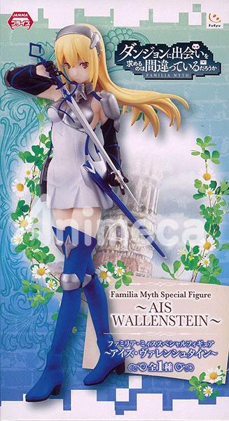 Ais Wallenstein Familia Myth SP Figure Dungeon ni Deai wo Motomeru no wa Machigatteiru Darou ka Danmachi