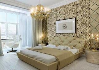 Tips on choosing a motif wallpaper bedroom wall
