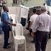 Ibametro recolhe cadeiras plásticas sem atestado de qualidade em loja de Salvador, após acidente com consumidor