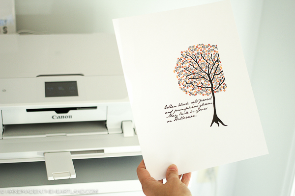 The best printer for home decor prints, the canon pixma mg7720