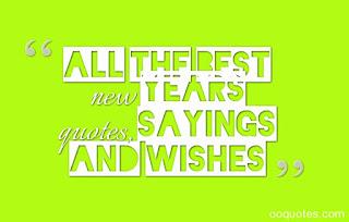 happy new year saying