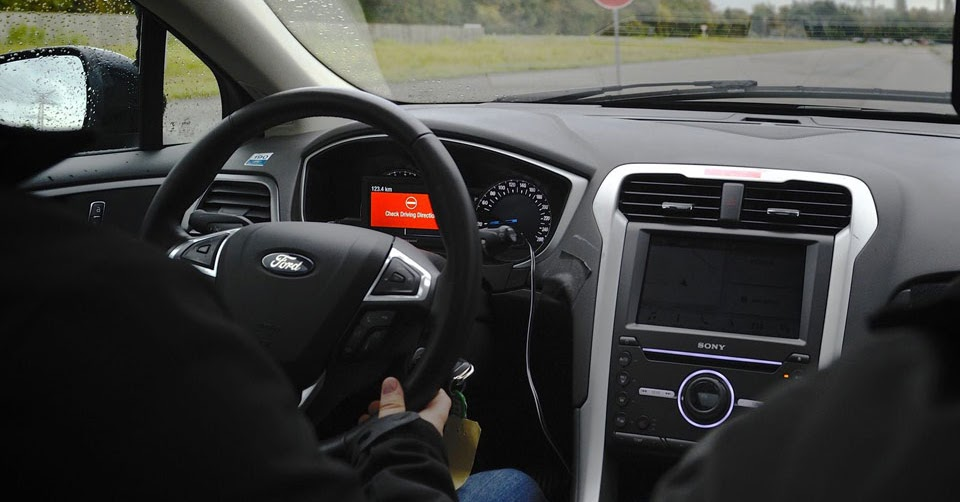 ford previews six new driver assist technologies. Black Bedroom Furniture Sets. Home Design Ideas