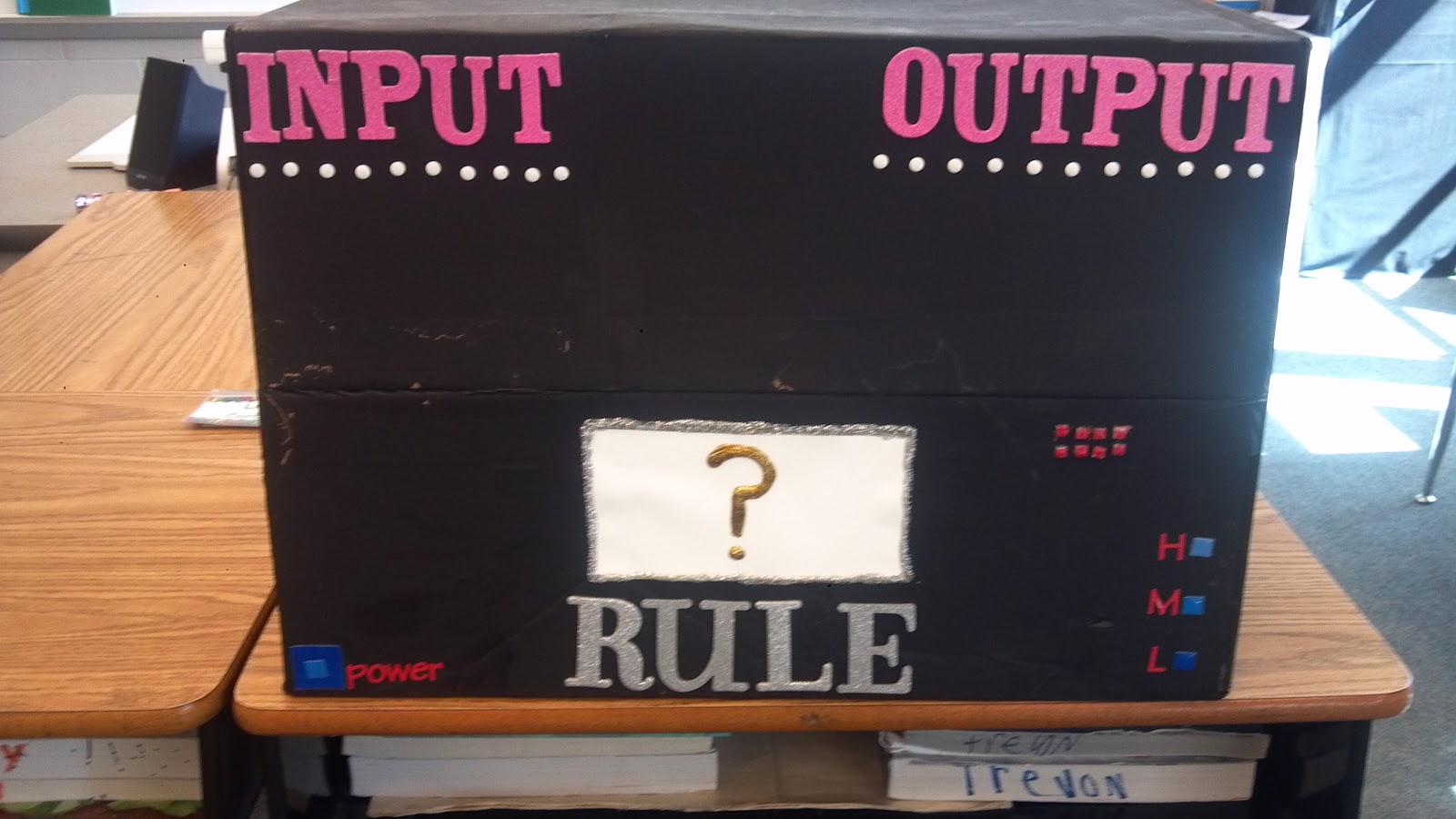 24 7 Teacher Input Output Mania This Machine Will