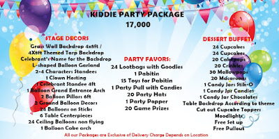 affordable birthday package in cebu