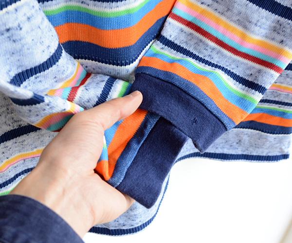 70sヴィンテージレインボークレイジーパターンテキスタイルTシャツ