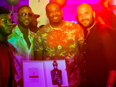 See the exclusive gift Don Jazzy received from a World brand (See photos)