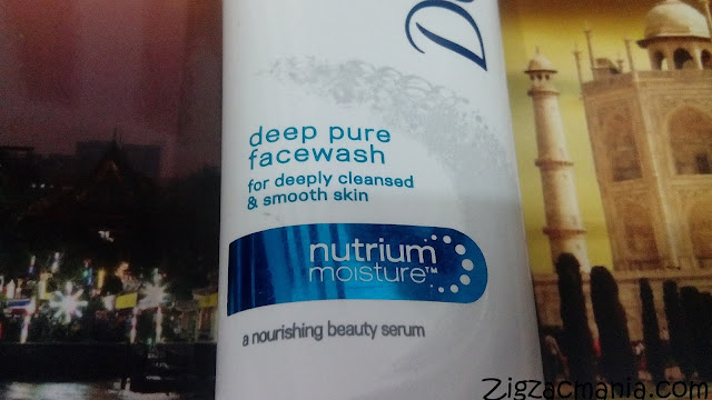 Dove Deep Pure Face Wash: Effective