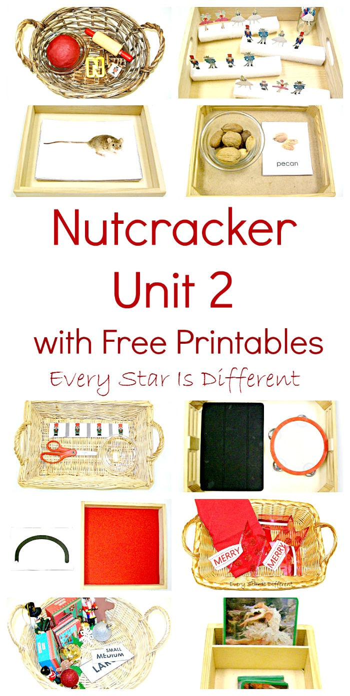 This is a photo of Clever Nutcracker Worksheets Printable