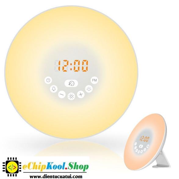 Đồng hồ báo thức điện tử thông minh đổi màu - XH-301