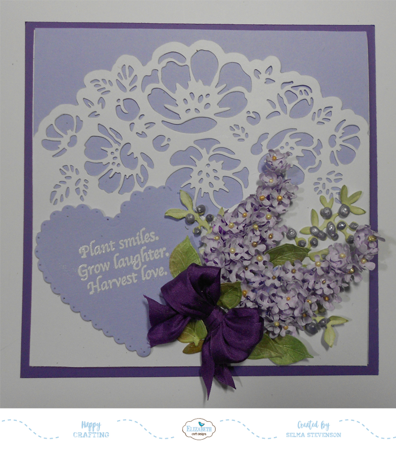 Selma S Stamping Corner And Floral Designs Garden Notes Lilacs