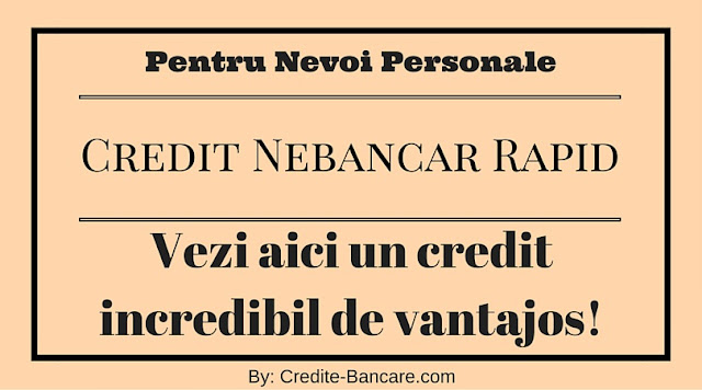 Card credit nevoi personale