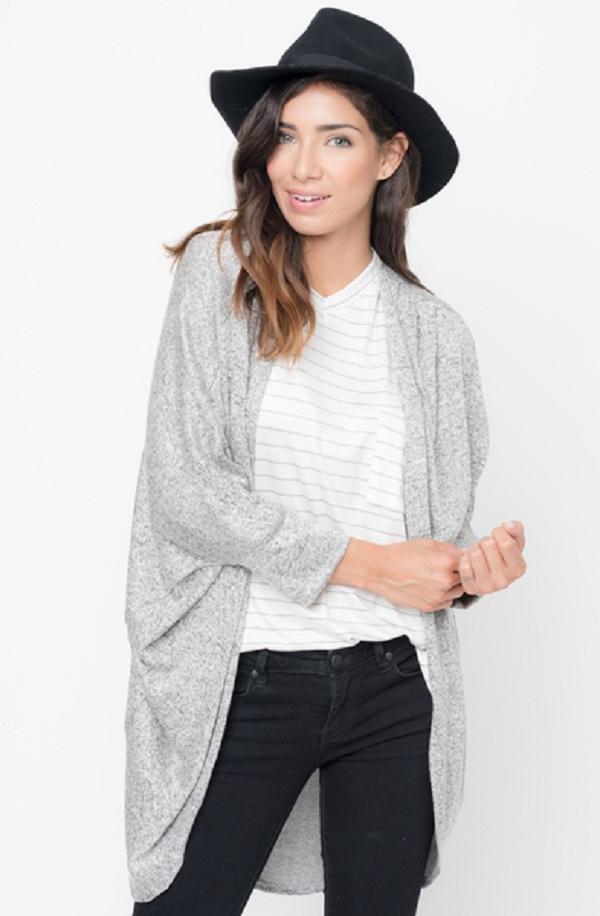 shoulder cardigan