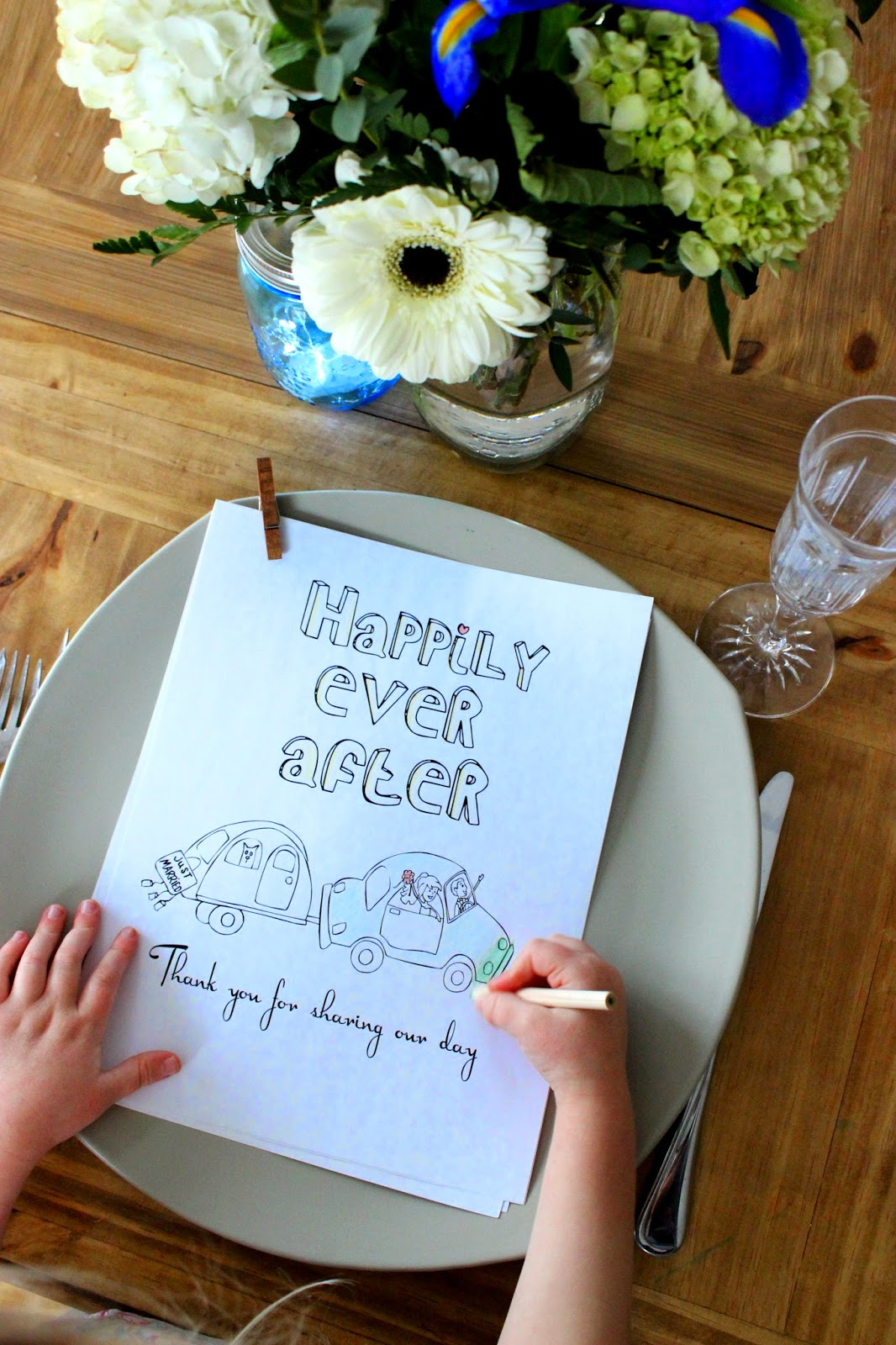 Wedding Coloring Activity Books For Kids Wedding Favors
