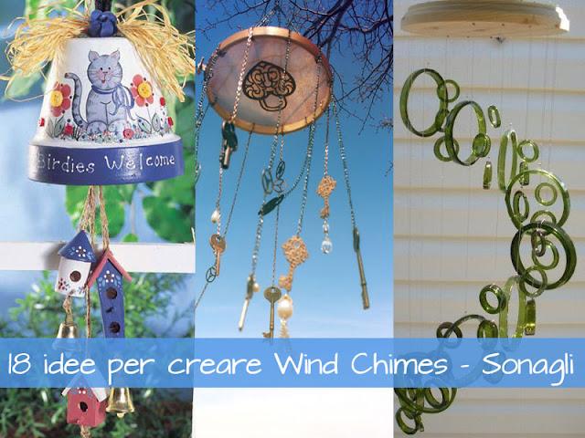 come creare dei sonagli al vento - Wind Chimes