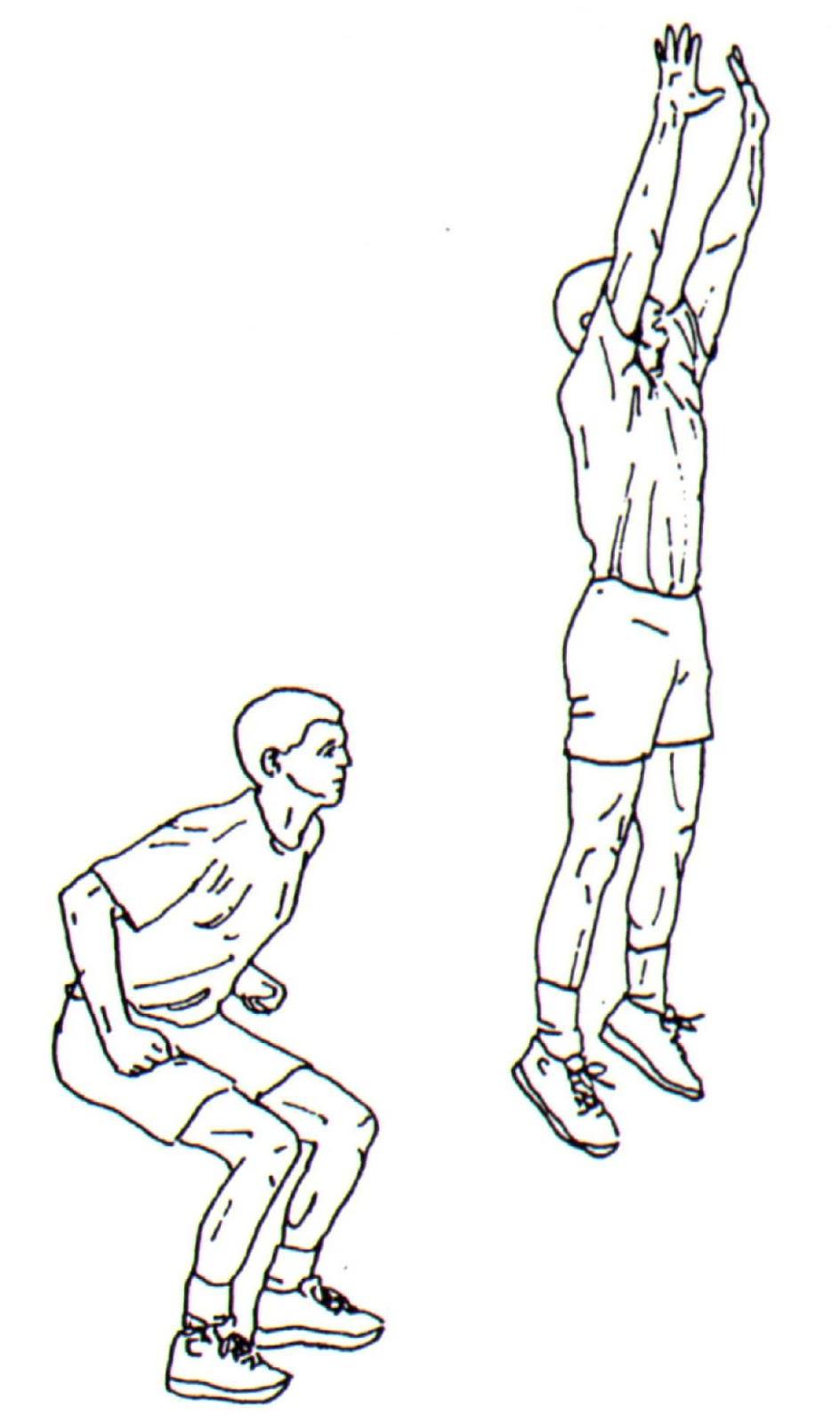 Single Leg Vertical Power Jumps 23