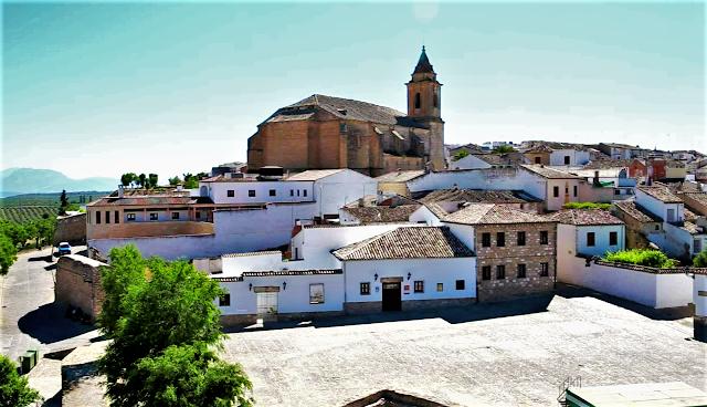 Pueblo de Sabiote en Jaén, Andalucía (España)